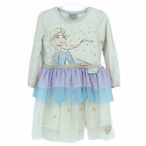 Disney Frozen 2 kids dress tulle layered skirt 3T